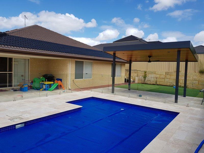 Carramar, WA. Solar pool heating installed.