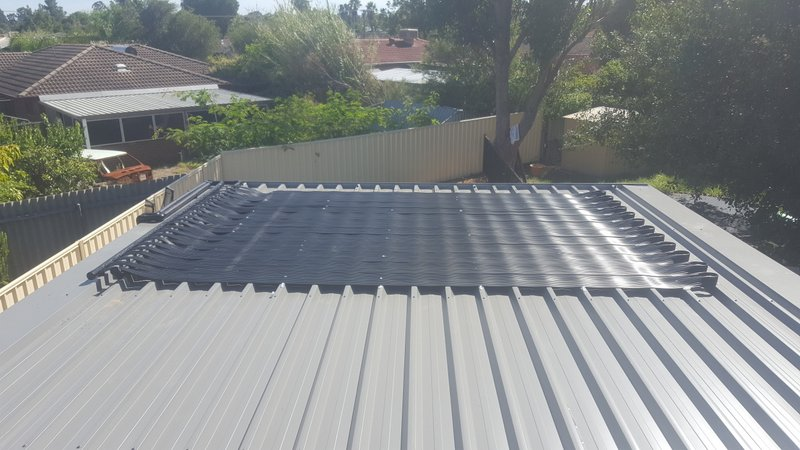Forrestfield, WA. pool heating solutions supplied and installed.