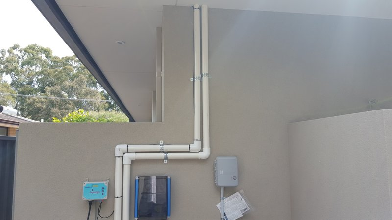control panels for pool heating system