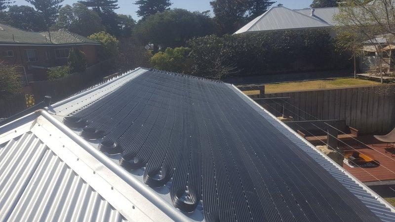 North Cottesloe, WA. Clean pool heating installer.