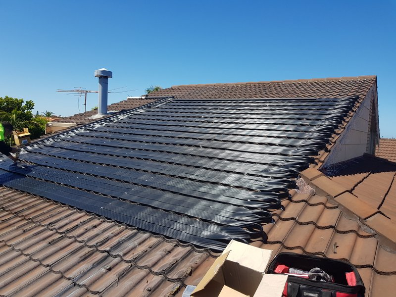 Sorrento heat your pool with solar heating