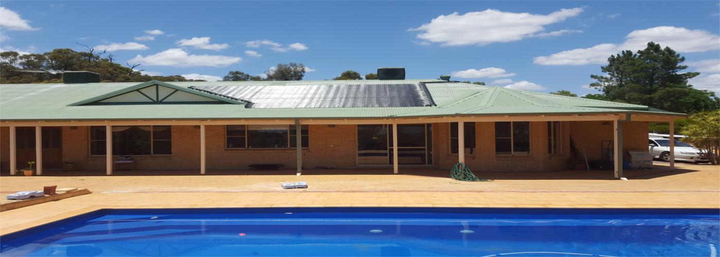Swimming pool heating Perth W.A.