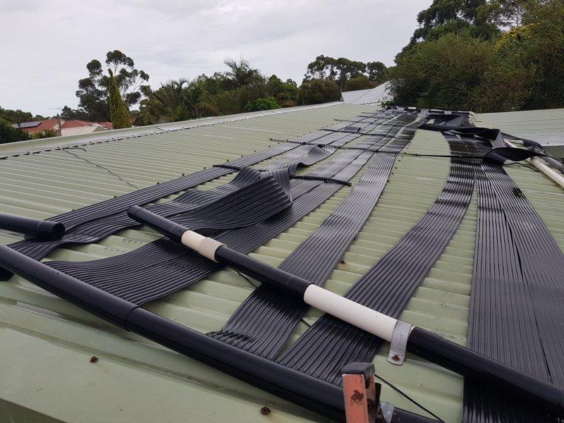 Solar heating system repairs
