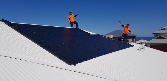 Solar pool heating Dawesville, WA.