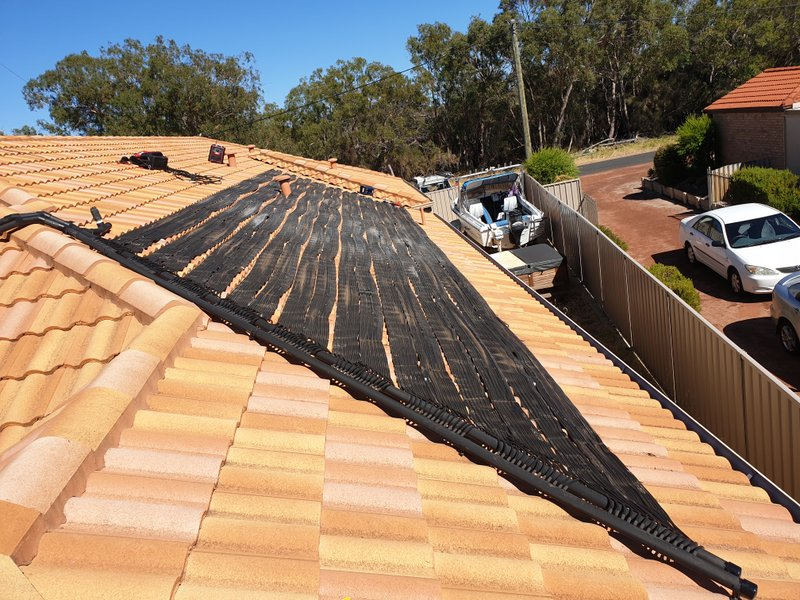 Solar pool heating repair in Yonderup