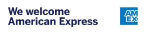 We welcome American Express