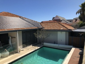 Coogee, WA. Extending the swimming season with another Pure Pool Heating installation.
